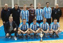 Karlalið Selfoss - Íslandsmeistarar í Futsal.