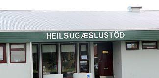 Heilsugæslustöðin á Hvolsvelli.