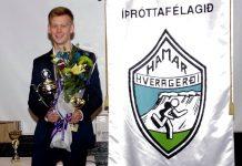 Dagbjartur Kristjánsson – íþróttamaður Harmars 2016.