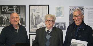 Frá vinstri: Guðmundur G. Þórarinsson, Guðjón Y. Stefánsson og Hilmar Viggóson.