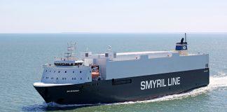 Mykines, nýjasta flutningaskip Smyril Line Cargo.