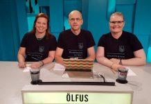Árný, Hannes og Magnþóra. Mynd: Svf. Ölfus.