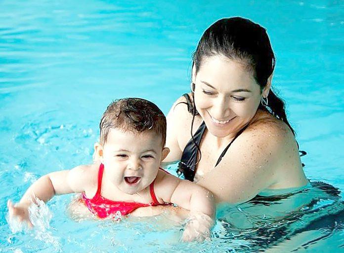 Myndin er fengin af Facebooksíðu Nordic Babyswim Conference.