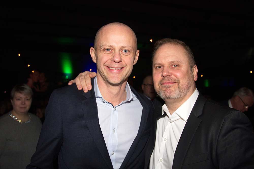 Friðbert Gunnarsson og Sigmundur Sigurgeirsson.