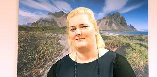 Laufey Guðmundsdóttir, formaður Kvenfélag Grímsnesshrepps.
