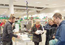 Frá fyrstu afhendingu REKO á Suðurlandi sem fram fór í desember sl.